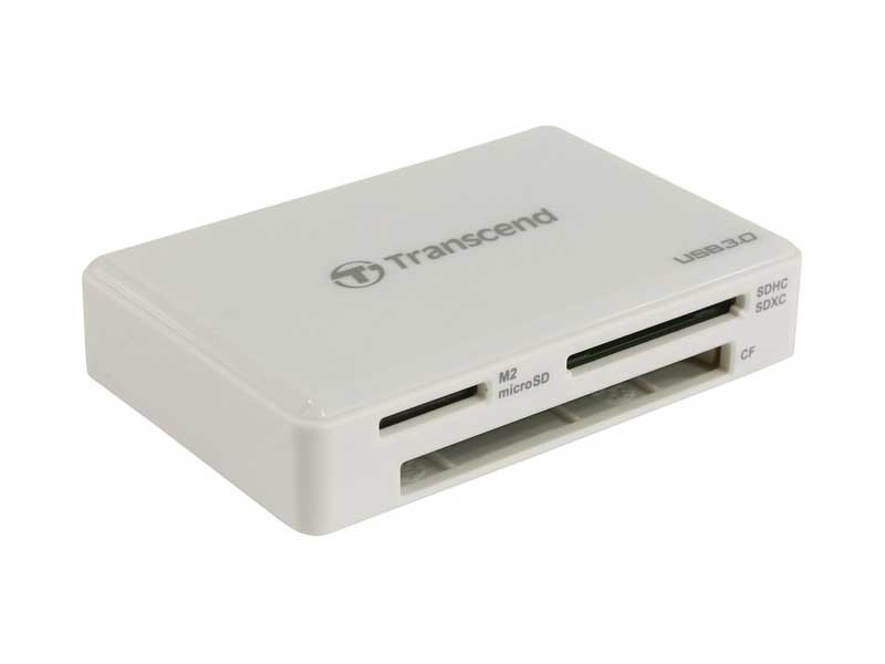 Картридер Transcend RDF8/ all-in-1/ USB 3.0 (TS-RDF8), на сайте Галерея Офис